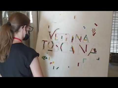 Il logo di Vetrina Toscana diventa un'opera d'arte collettiva