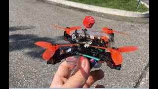 Diatone frame rebuild // Second flight // FPV freestyle and tree landing ????