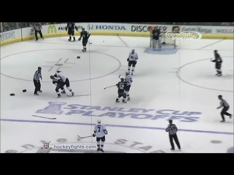 Justin Williams vs. Justin Braun