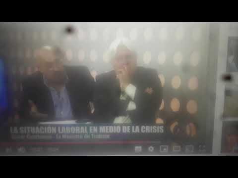 """VIDEO El ex ministro Cacho Cuartango en Ciudadanos: """"Glovo es fraude laboral y Uber, lo roza"""""""