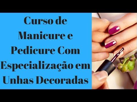 Curso de manicure em Ananindeua - unhas decoradas