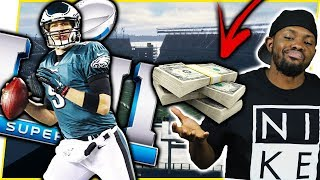 WIN $1,000,000 DURING THE SUPERBOWL! + SUPERBOWL 52 MVP NICK FOLES CANT BE STOPPED! - MUT 18