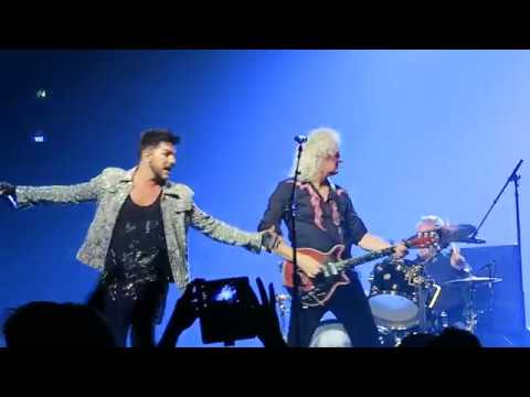 Queen + Adam Lambert - Somebody to Love. Helsinki 19 november 2017