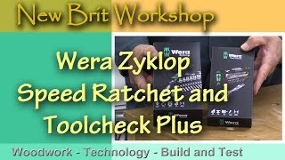 Wera Zyklop Speed Ratchet and Toolcheck-Plus