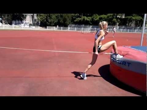 走り幅跳びに活きる!ダリヤ・クリシナのトレーニング