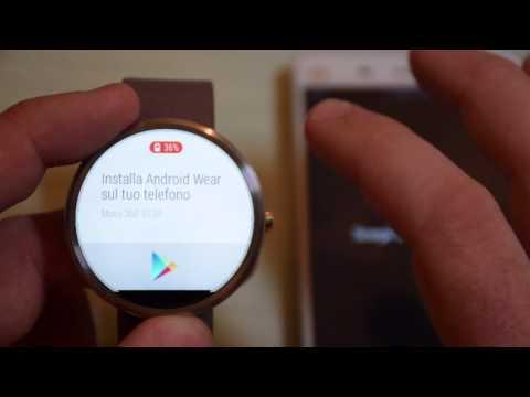 Motorola Moto 360: Video unboxing, primo avvio e prime impressioni
