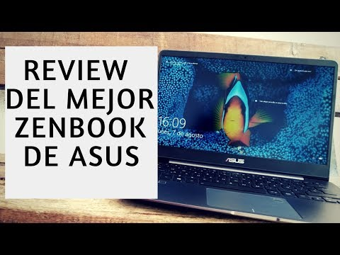 Asus Zenbook UX430UA Reseña/Review en Español de un Tope de Gama Imperdible