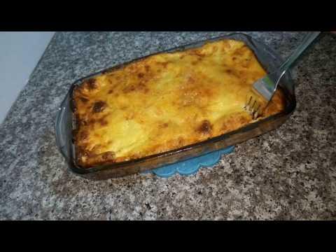 مطبخ ام وليد غراتان الدجاج و البطاطا صلصة حمراء - هنا hana