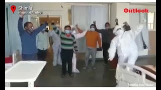 The Body Says What Words Cannot: Dancing Docs Cheer Himachal Patients Up