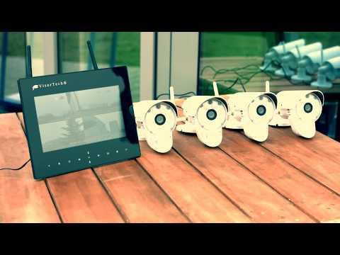 HD-Überwachungskamera m. WLAN, Nachtsicht, Bewegungserkennung, microSD