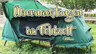 Plan Re Feldbettzelt, die bequeme Art des Zelten. (enthält Werbung)