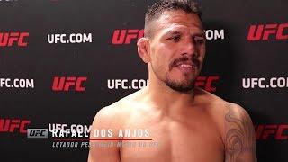 """UFC Rochester: Rafael dos Anjos - """"Minha experiência fez a diferença"""""""