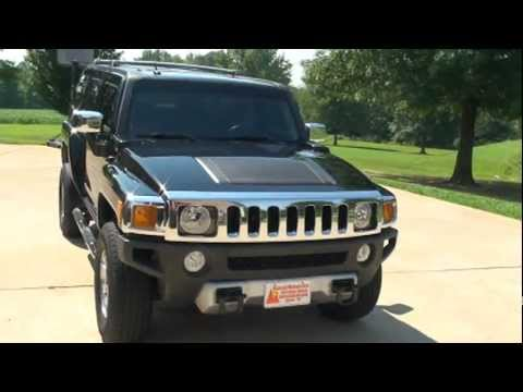 2008 HUMMER H3 LUXURY LEATHER SUNROOF FOR SALE MILAN TN SUNSETMILAN COM