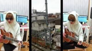 The Ting Tings - Be The One ( cover by J.Fla ) & Travelling in Tokyo