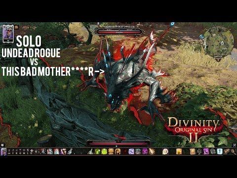 Divinity: Original Sin 2 - {SOLO} Undead Rogue vs Voidwoken Deep
