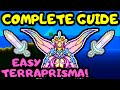 EMPRESS OF LIGHT DAY GUIDE FOR SUMMONERS! Terraria Expert Empress of Light Boss guide! Terraprisma!