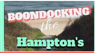Boondocking the Hamptons | Hither State Park | Full Time RV Family