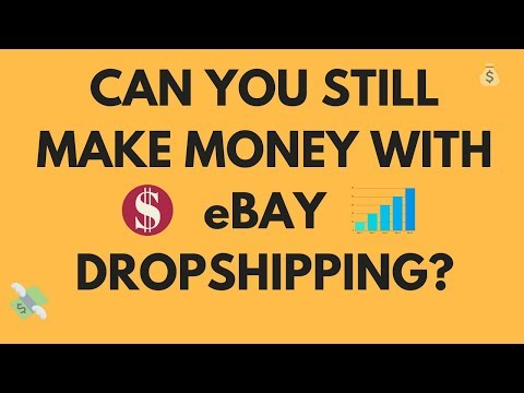 Can you STILL MAKE MONEY from eBay dropshipping?
