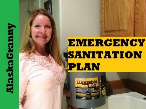 Luggable Loo Emergency Toilet And Supplies- SHTF Prepping Prepper Must Haves Sanitation Hygiene