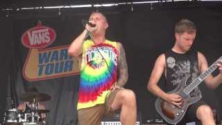 Architects - Black Blood warped tour '13