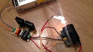 Электростимулятор для рыбы на полевых транзисторах