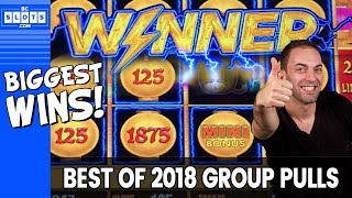 💵$43,000 in GROUP PULL JACKPOTS from 2018 💵 Serious CASH 🎰 ✦ BCSlots