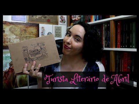 Unboxing Turista Literário de Abril (2021)   Raíssa Baldoni