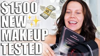 $1,500 of NEW MAKEUP TESTED