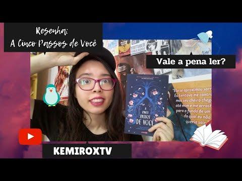 A Cinco Passos de Você : O LIVRO DO FILME (sem spoilers) | Kemiroxtv