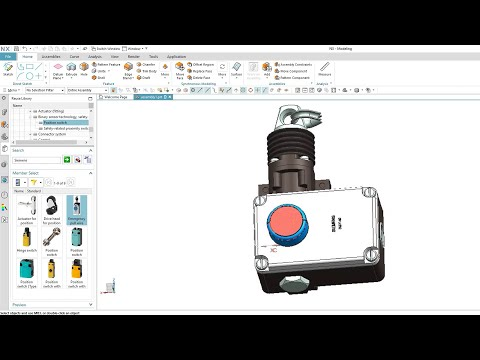 Siemens components available as 3D CAD files powered by CADENAS