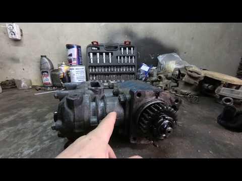 Двухцилиндровый компрессор, ремонт головки и замена колец