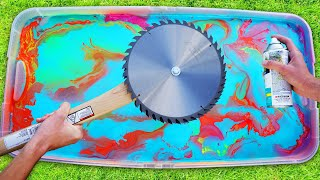 Customizing Apocalypse Survival Weapons with Hydro Dipping! *SATISFYING*