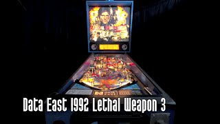 Lethal Weapon Pinball