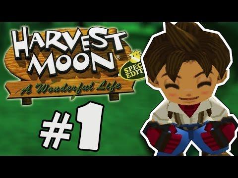 O INÍCIO DE UMA NOVA VIDA! - Harvest Moon: A Wonderful Life #1