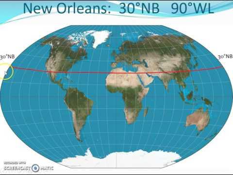 Atlasvaardigheden: coördinaten en kaarten opzoeken, en soorten kaarten