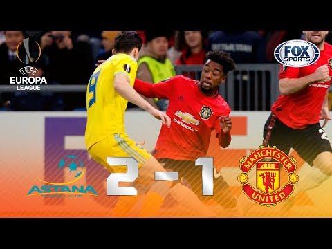 VIRA, VIRA, VIROU! Veja os lances de Manchester United x Astana pela Europa League