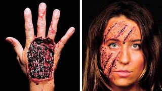21 TERRIFYING HALLOWEEN MAKEUP TUTORIALS