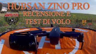 RECENSIONE E TEST DI VOLO HUBSAN ZINO PRO ITA