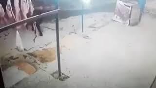 Момент землетрясение в Иране  12 ноября 2017г