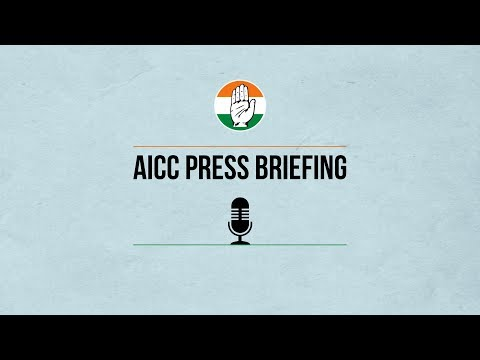 AICC Press briefing by Randeep Surjewala and Jaiveer Shergill at AICC HQ on the SC verdict on Rafale