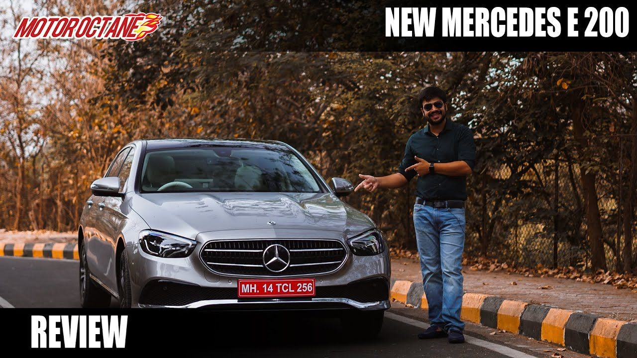 Motoroctane Youtube Video - New Mercedes-Benz E-Class Review - Style and Substance