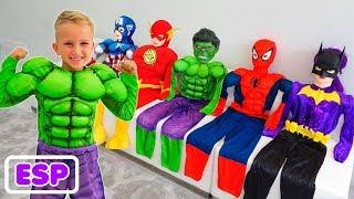 Vlad se convierte en un superhéroe  Video de colección para niños