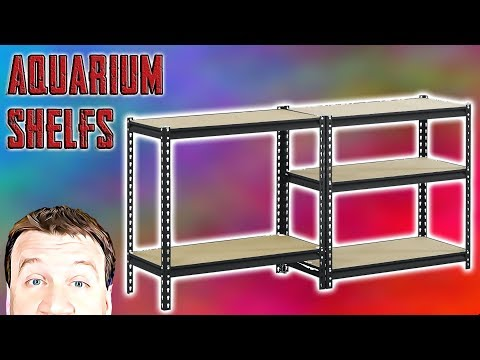 Metal Shelving – 40G Breeder Aquariums 3 Decker – Review