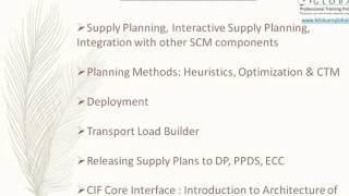 SAP SCM TRAINING