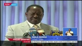 Friday Briefing: Raila Odinga slams president Uhuru Kenyatta on the latest health scandal