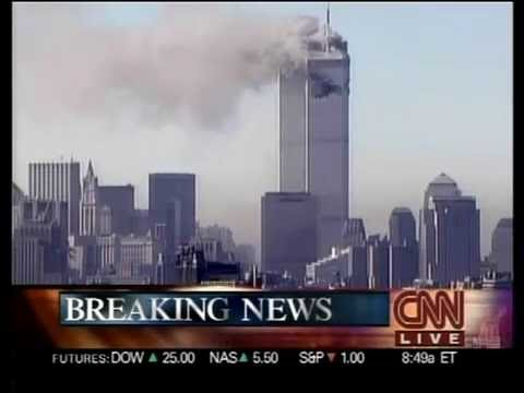 CNN 9-11-2001 Live Coverage 8:46.32 A.M E.T - 5.00 P.M E.T