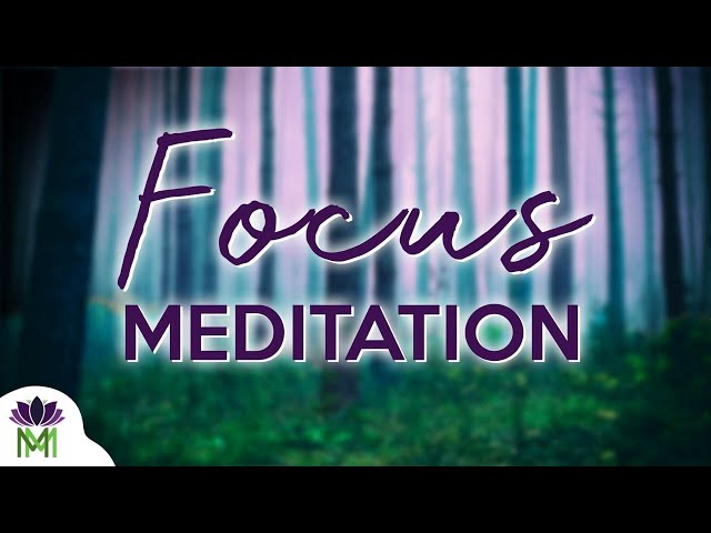 10 Minute Guided Meditation for Focus / Mindful Movement