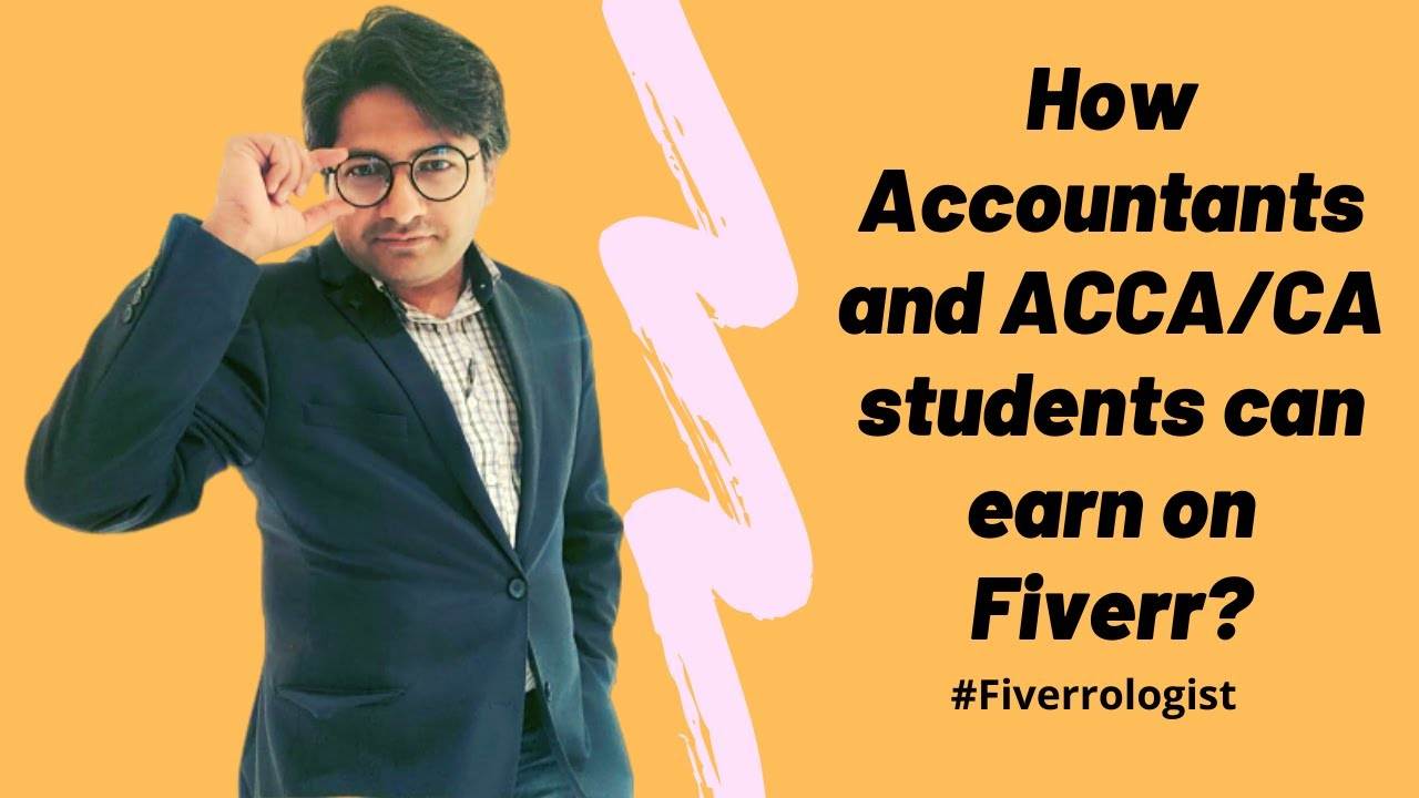 How accountants and ACCA/CA/finance students can earn money on Fiverr? (Urdu/हिन्दी). thumbnail