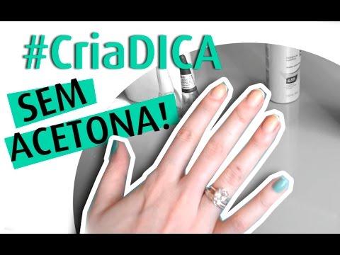 remover esmalte s/acetona