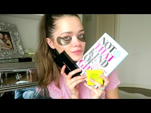 June Favourites: Bare Minerals, Hydrogel Eye Patches, Avocado Sleeping Mask..